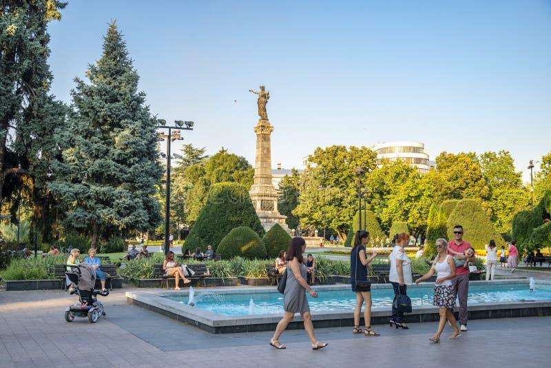 Улица в уловке в Болгарии стоковые фото
