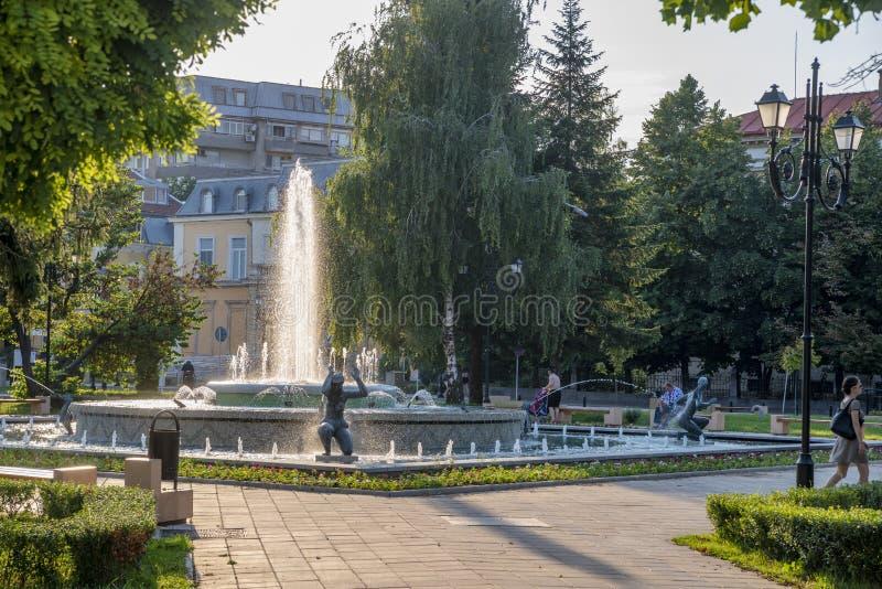 Улица в уловке в Болгарии стоковое изображение rf