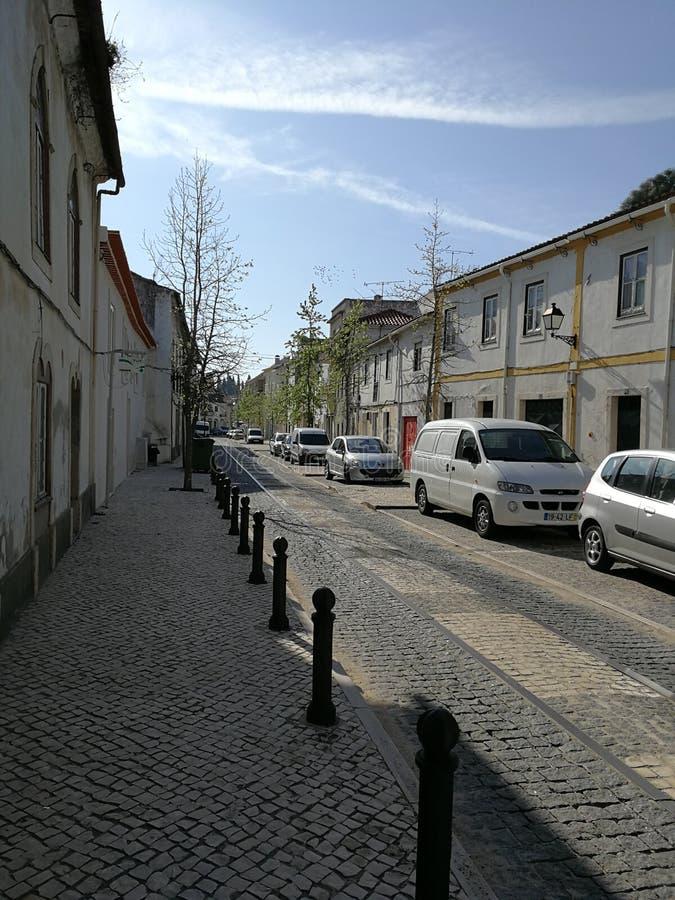 Улица городка стоковое изображение