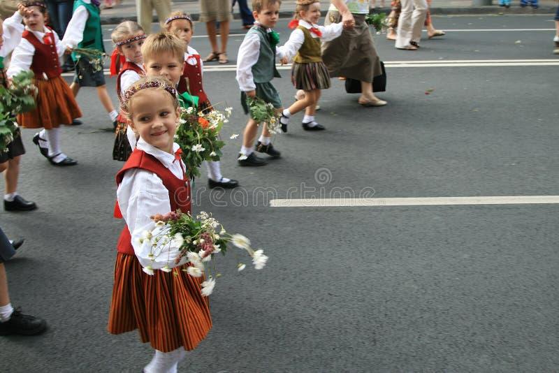 улица детей s стоковая фотография rf