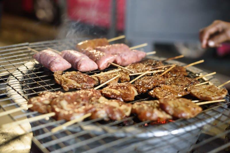 улица еды bangkok стоковое фото