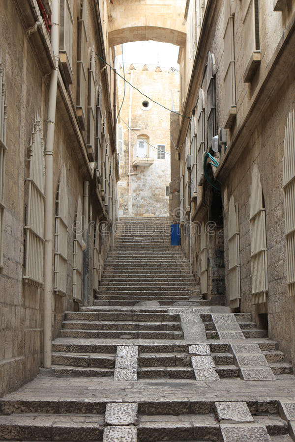 улица Иерусалима стоковое фото