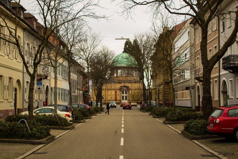Улица Карлсруэ стоковая фотография