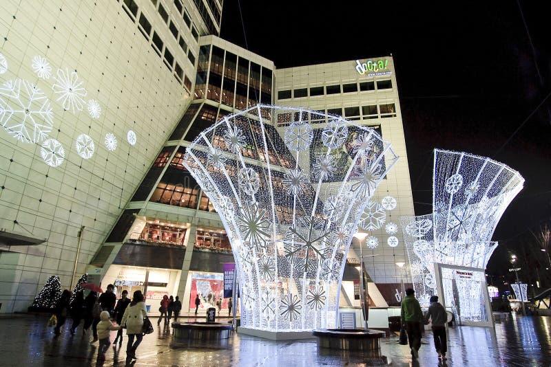 улица Кореи dongdaemun стоковая фотография