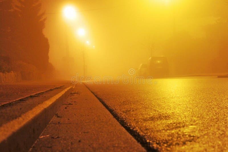улица ночи стоковые фото