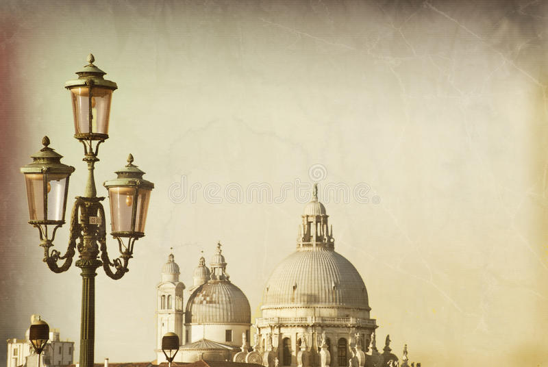 улица освещения venetian иллюстрация штока