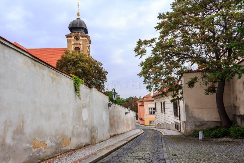 Улица Праги стоковое фото
