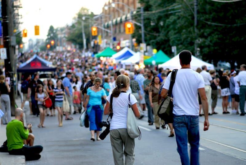 улица празднества стоковые фото