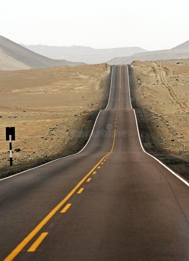 улица пустыни стоковые изображения rf