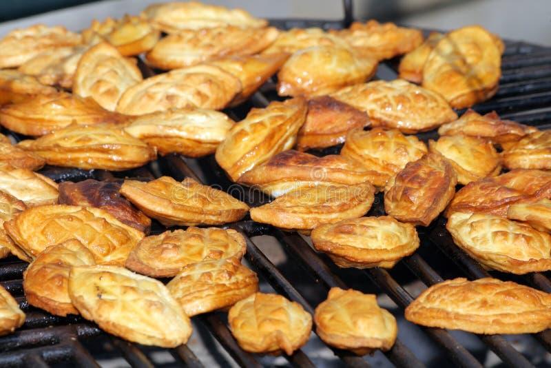 улица рынка еды традиционная стоковая фотография rf