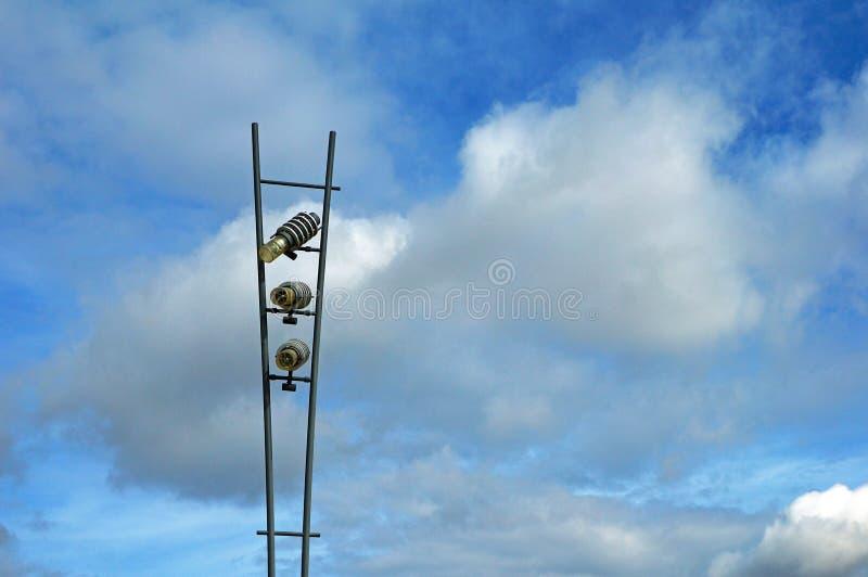 улица светильника самомоднейшая стоковое изображение rf