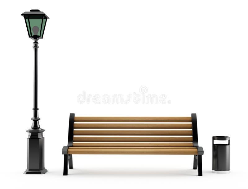 улица светильника стенда бесплатная иллюстрация