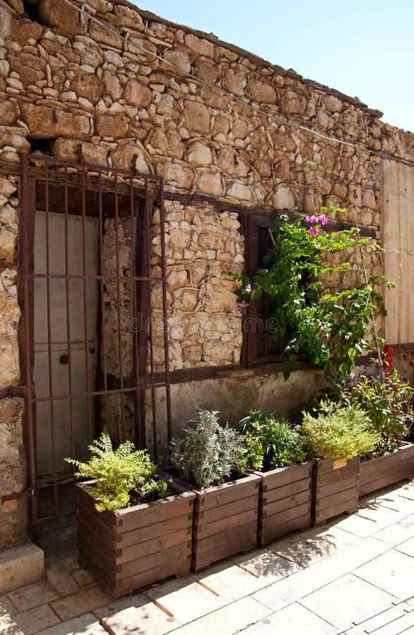 Улица старого городка Kaleici в Анталье, Турции стоковые изображения