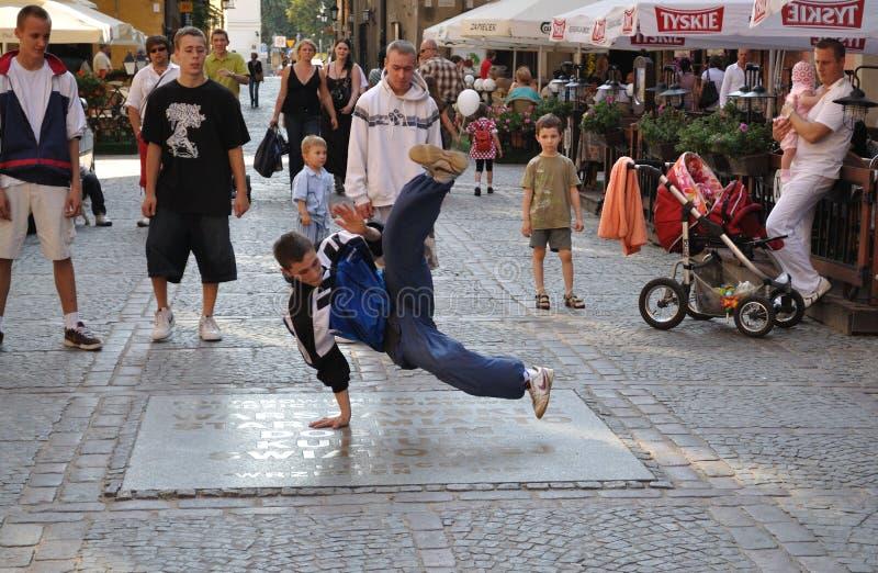 улица танцора стоковые фотографии rf