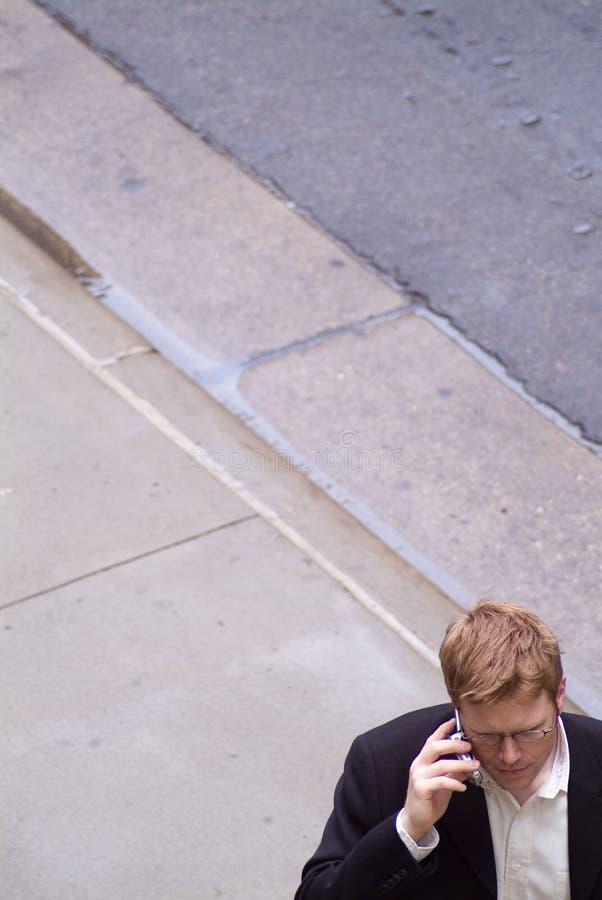 улица телефона человека стоковые изображения