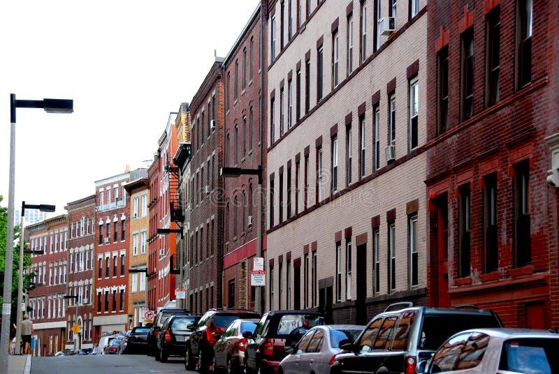 улица boston стоковое изображение rf