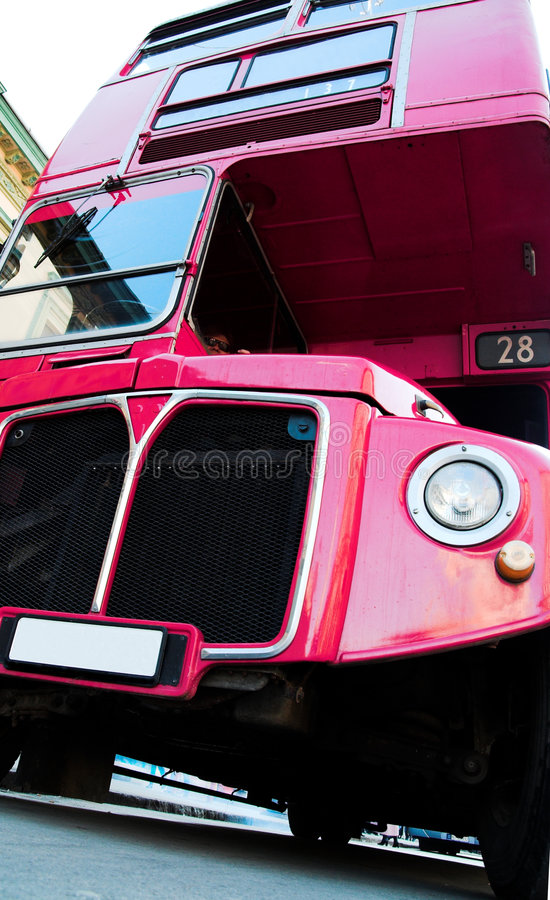 улица london шины стоковое фото rf
