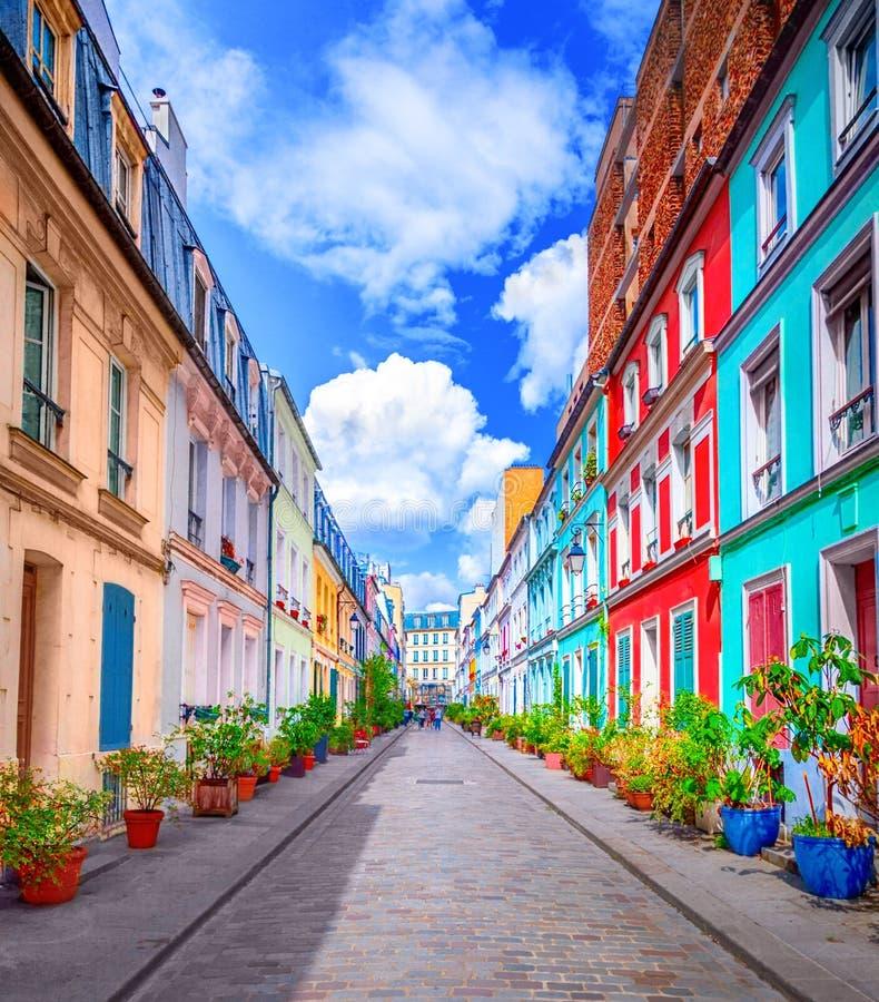 улица paris стоковые фото