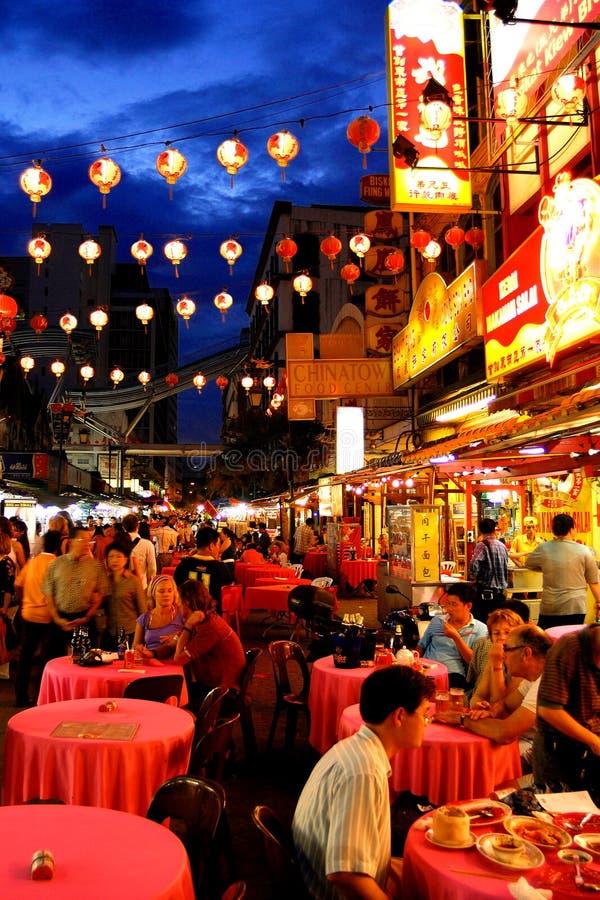 Улица Petaling стоковая фотография rf