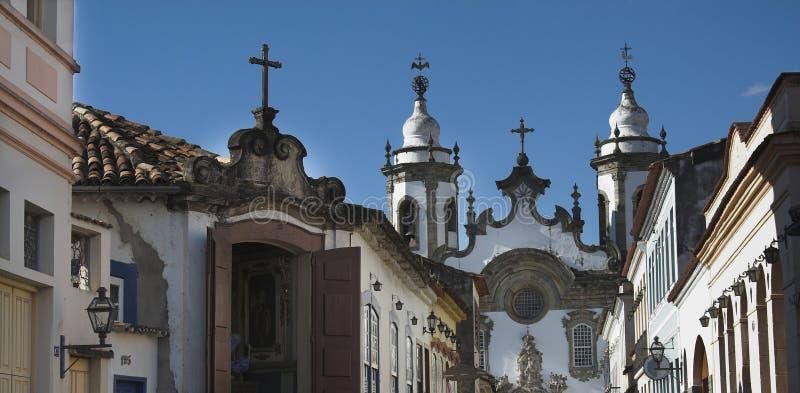 улица sao rey del joao стоковые фотографии rf