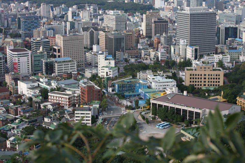 улица seoul стоковые фотографии rf