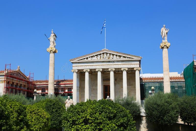 Улицы Афин, Греции стоковое изображение