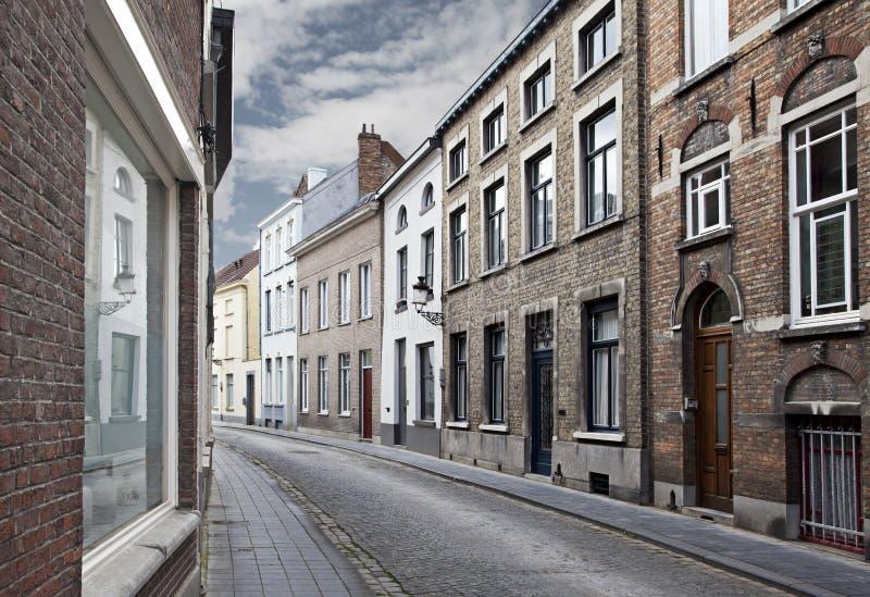 Download улицы Бельгии bruges стоковое фото. изображение насчитывающей структура - 18391124
