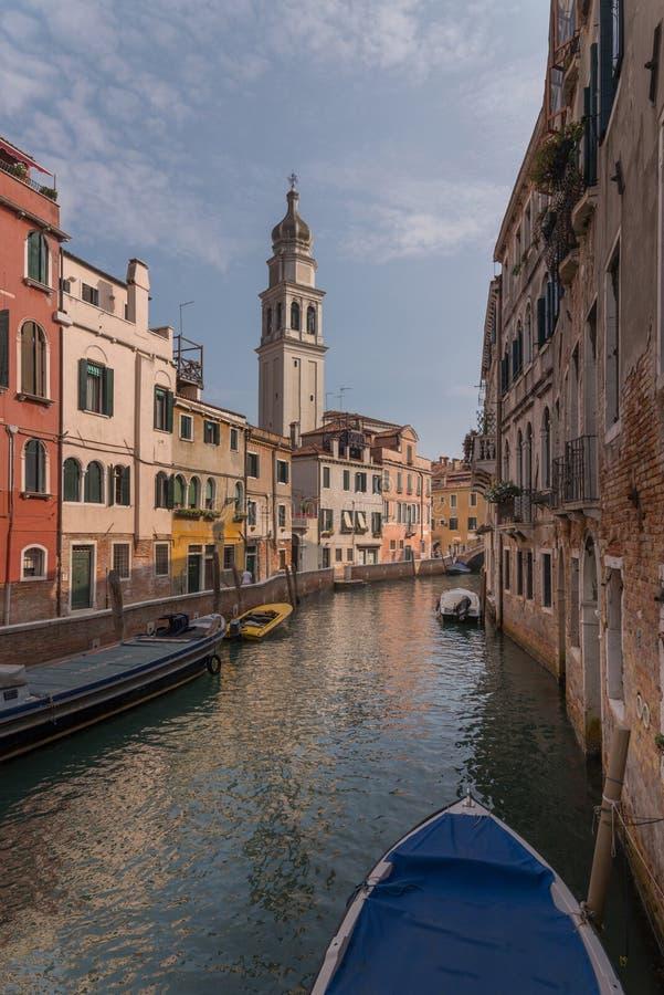 Улицы Венеции стоковое изображение