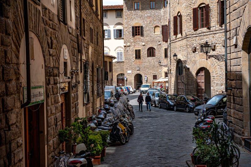Улицы Флоренции стоковое изображение rf
