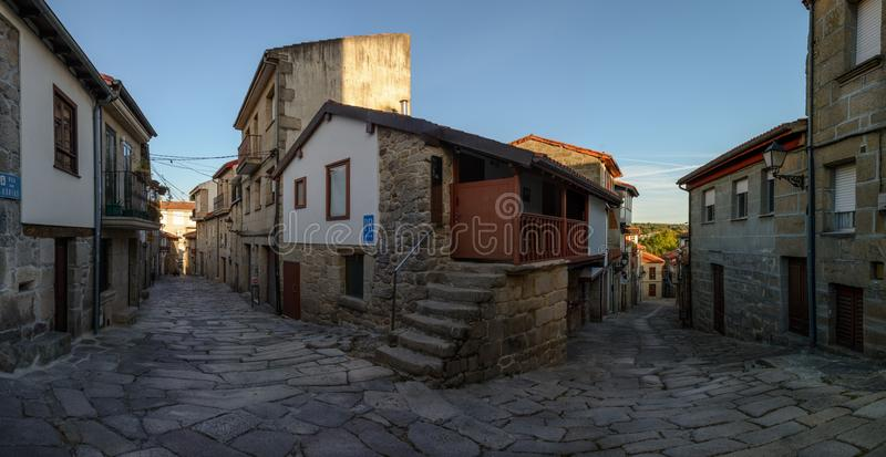 Улицы Allariz стоковое фото