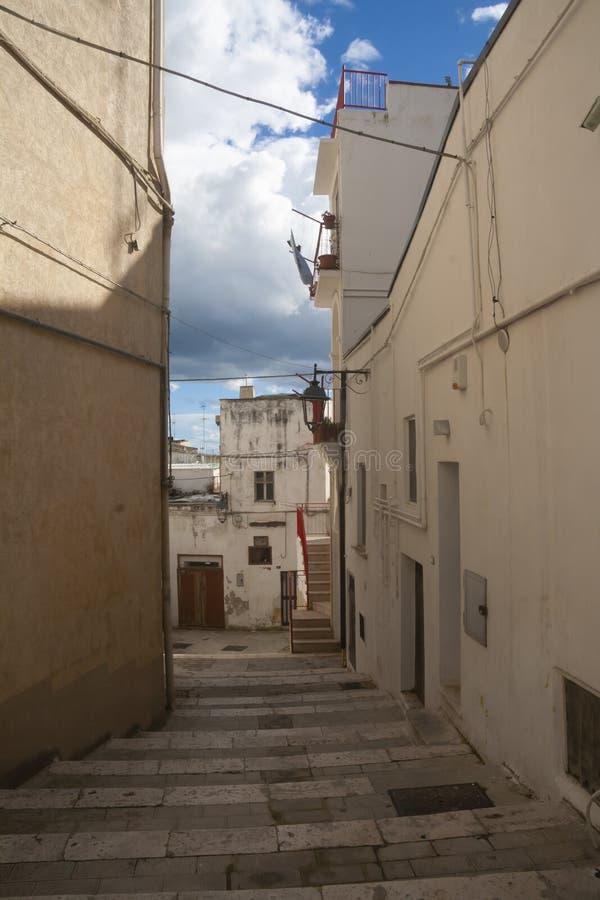 Улицы Castallaneta стоковая фотография rf