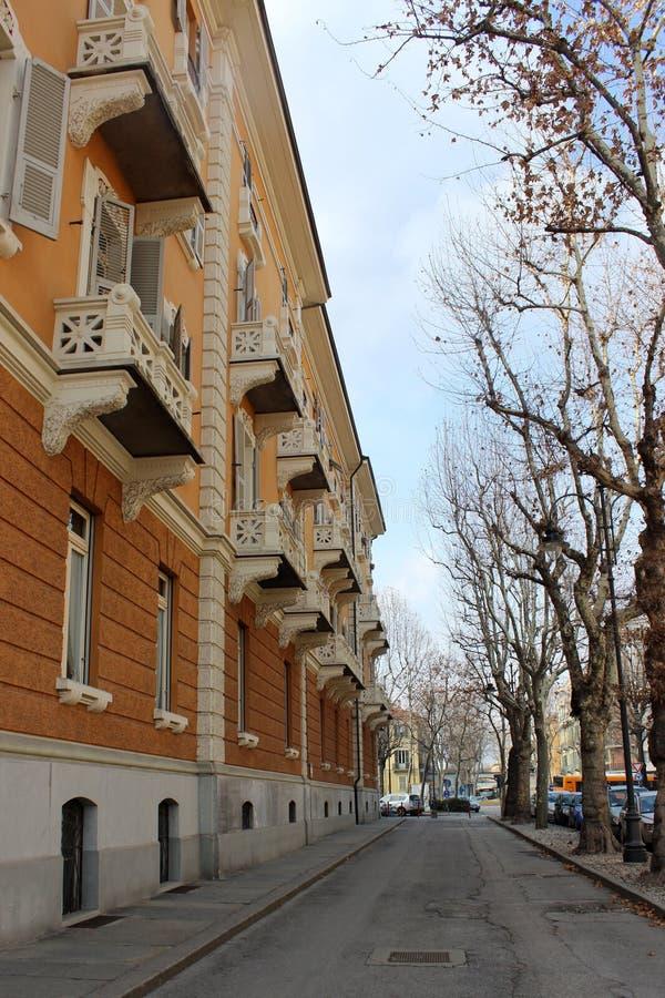 Улицы Cuneo стоковые фотографии rf