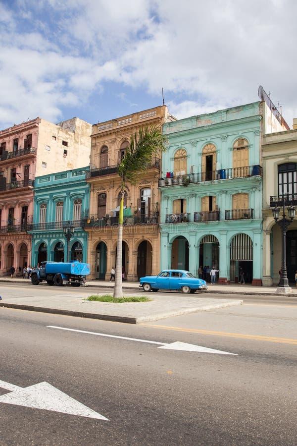 улицы havana стоковые изображения rf