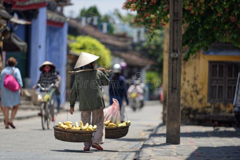 Улицы Hoi стоковые изображения rf