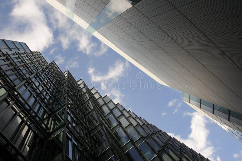 улицы london зданий стоковые изображения rf