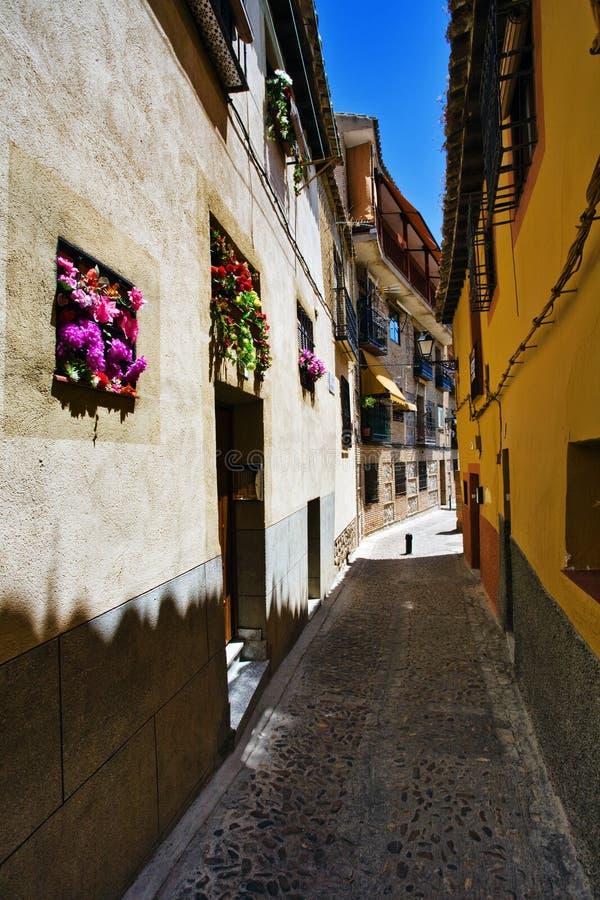 улицы toledo стоковая фотография