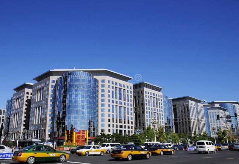 уличное движение Пекин changan стоковое фото