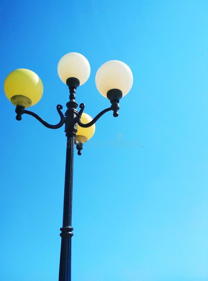 Уличный свет, архитектурноакустическое решение стоковая фотография rf