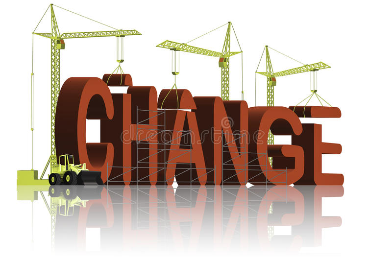 улучшайте изменение различное эволюционируйте делать улучшения иллюстрация вектора