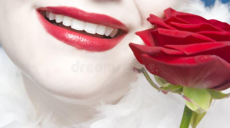улучшите усмешку стоковая фотография