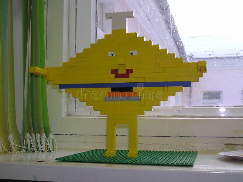 Улыбка от Lego стоковые фотографии rf