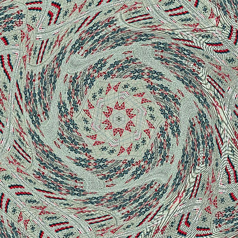 Ультрамодное стильное очарование Шестиугольный барочный орнамент морокканский тип иллюстрация вектора