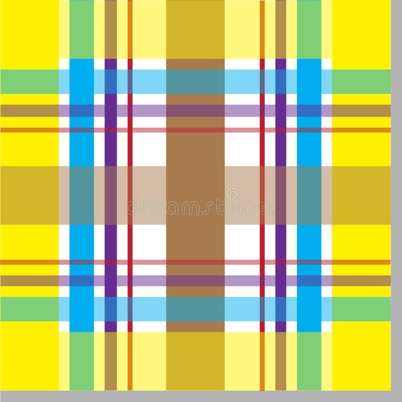 ультрамодное шотландки картины безшовное иллюстрация штока