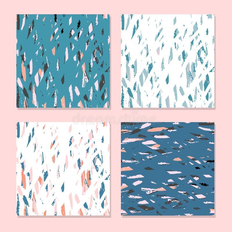 Ультрамодный абстрактный terrazzo бесплатная иллюстрация