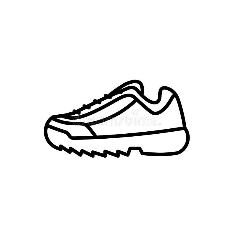 Ультрамодный значок тапки ботинка спорта моды бесплатная иллюстрация
