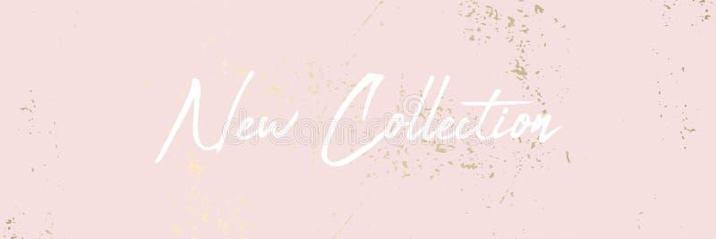 Ультрамодный краснеет предпосылка текстуры золота пинка женственная пастельная бесплатная иллюстрация