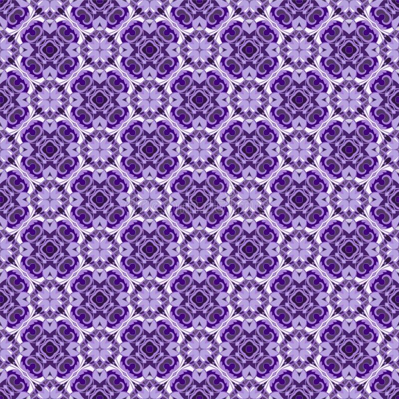 Ультрафиолетов безшовная картина бесплатная иллюстрация