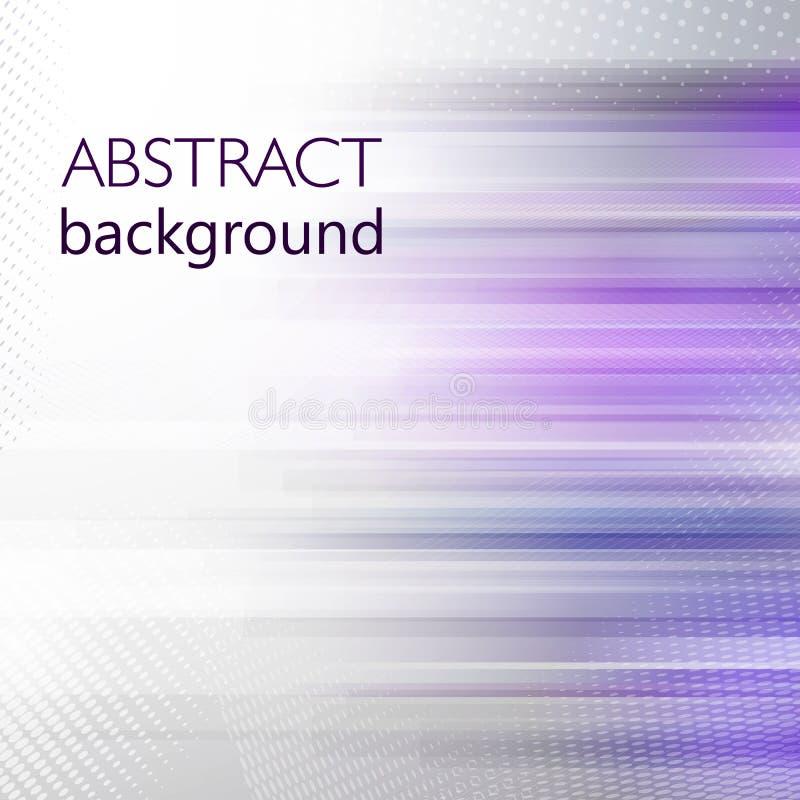 Ультрафиолетов накаляя линия предпосылка конспекта вектора в цвете года 2018 Шаблон полутонового изображения и дизайна нашивки дл иллюстрация вектора