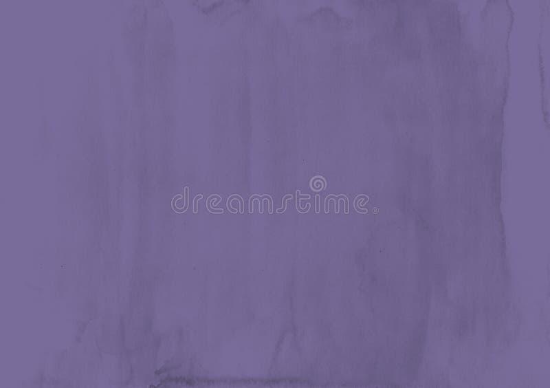 Ультрафиолетов предпосылка акварели текстура элементы конструкции предпосылки 4 снежинки белой Ab иллюстрация штока
