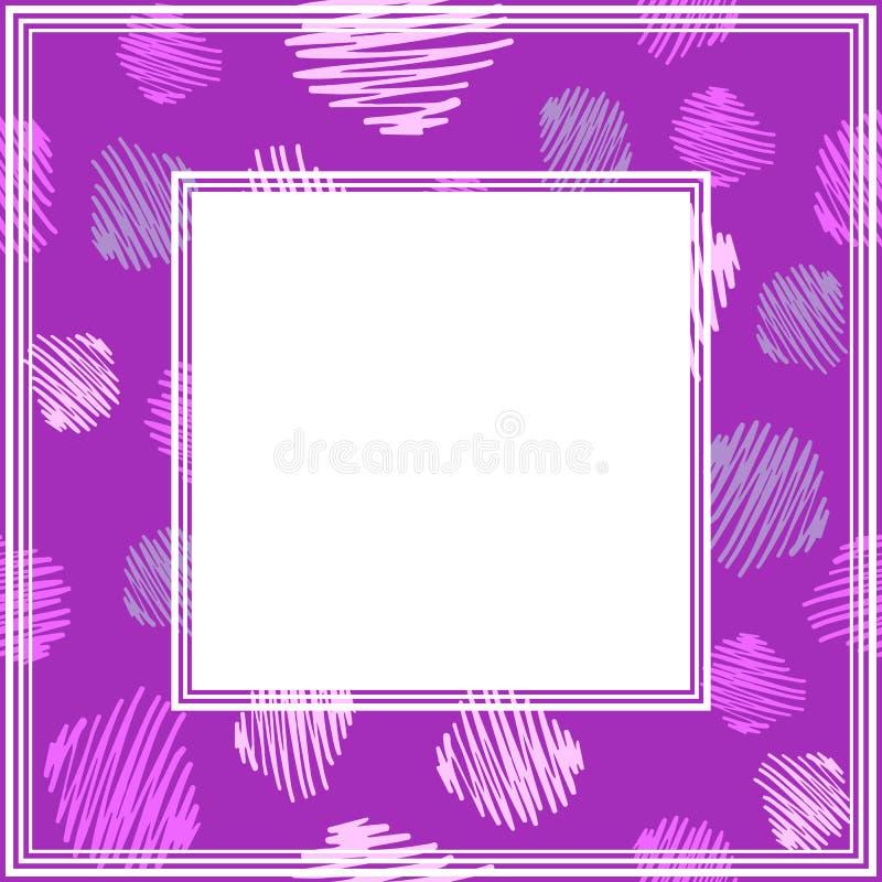 Ультрафиолетов border-04 бесплатная иллюстрация